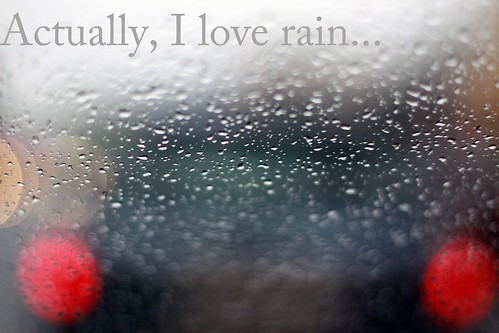 Rain is so beautiful... / Olia Kulinko