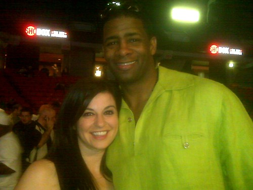 Me with Kendall Gill After his First Fight