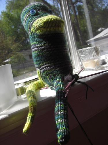 Monkey in progress