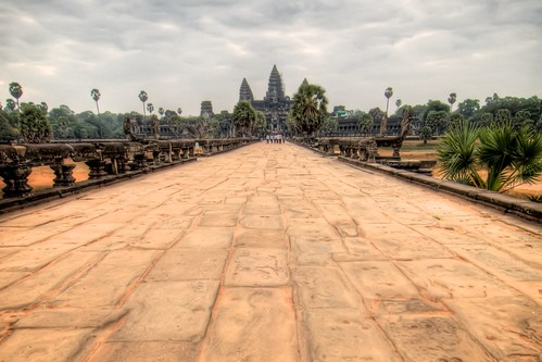 The Walk to Angkor Wat
