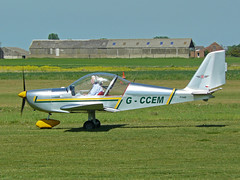 G-CCEM (QSY on-route) Tags: beverley linleyhill gccem 22052010 egny