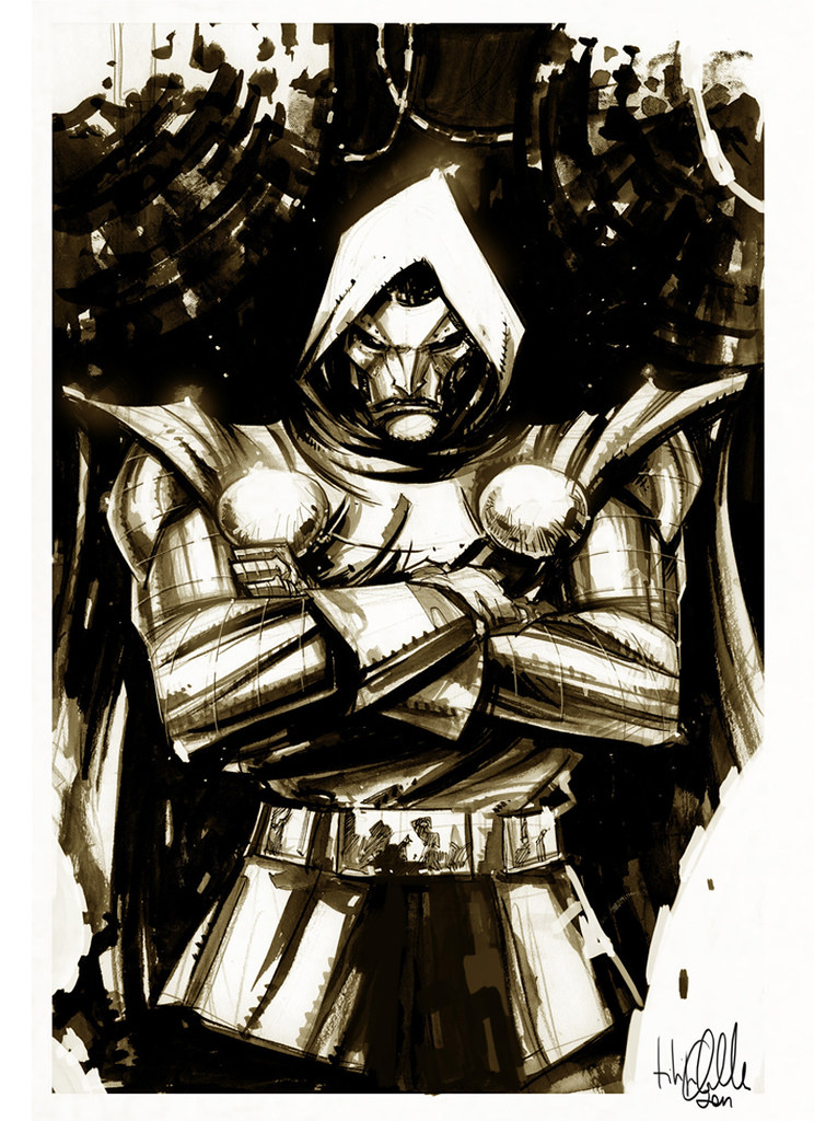 Doctor Doom by Filipe Andrade