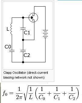 Clapp oscillator