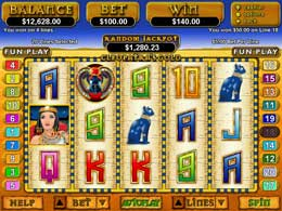 Cleopatra's Gold Flash Video Slot