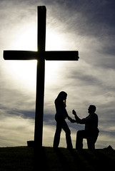 Proposal-at-the-Cross (StevenSmith1) Tags: couple contest proposal religonfaithcrossgodjesus herowinner boymeetsgirlcouple
