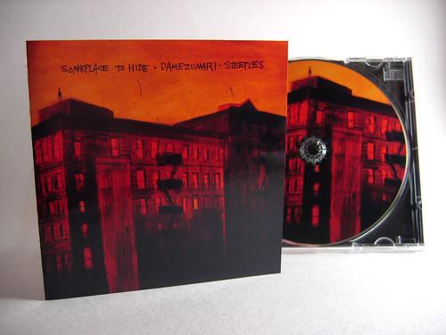 Someplace to Hide/Damezumari/Steeples Split