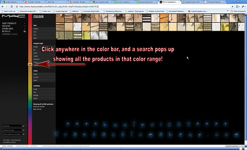MAC Cosmetics Search By Color 4