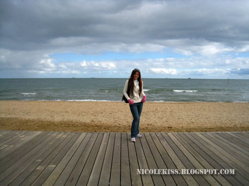 me at st kilda beach