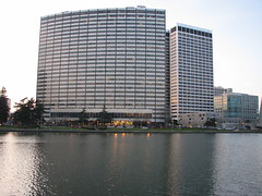 Waterfront high rise on Lake Merritt