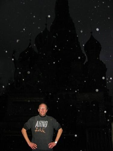 Arno & Basil by night