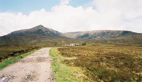 Looking to Corrour Station