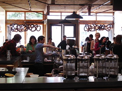New Fave: Four Barrel Coffee (Premshree Pillai) Tags: sf sanfrancisco california cafe bodylanguage mission fav coffeehouse thisissanfrancisco fourbarrelcoffee fourbarrelcoffeeroasters