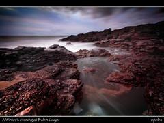 A Winter's evening at Bwlch Gwyn (opobs) Tags: winter sunset sky storm beach water southwales wales seaside rocks waves january wideangle canon5d 2009 bcc wfc ogmore valeofglamorgan bridgend ogmorebysea bwlchgwyn 1740mml wetknees welshflickrcymru opobs cokinxpro bridgenddistrictcameraclub michaeljstokesawpf craigyreos