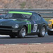 Chris Gray (#87) & (#40) Russell Stanford Datsun 240Z