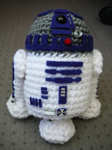 R2-D2 crochet / Star Wars