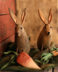 Primitive Bunnies in a Vegetable Garden (oldworldprimitives) Tags: bunnies folkart dolls handmade etsy artdoll needlecraft primitive valleyofthedolls primitives clothdoll primitivedolls primitivedoll etsynj primitivefolkart primitivecrafts oldworldprimitives wsoapp primitivebunnies