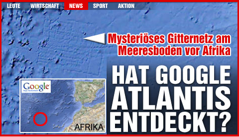Google Atlantis by Bild.de