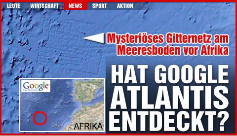 Google Atlantis by Bild.de