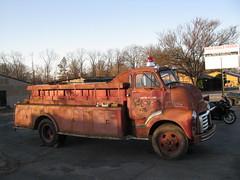 GMC Firetruck (dbro1206) Tags: truck rusty firetruck arkansas gmc coe caboverengine