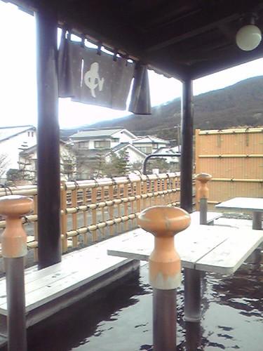由布院駅足湯/Foot bath at Yufuin station