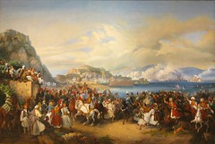 """The Reception of King Othon of Greece at Nafplion"" (1901) - Nikolaos Ferekeidis (Tilemahos Efthimiadis) Tags: art museum painting gallery hellas athens nationalgallery canvas greece 100views oil 400views 300views 200views 500views copy 50views 800views 600views 700views  nikolaos  900views permanentcollection          dvdphotos11 address:city=athens  alexandrossoutzos  euripideskoutlidesfoundation ferekeidis thereceptionofkingothonofgreeceatnafplion petervonhess    address:c"