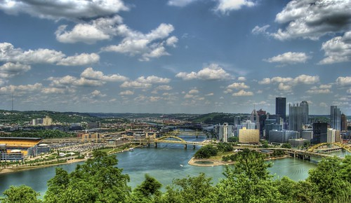 Pittsburgh view, by Evad310