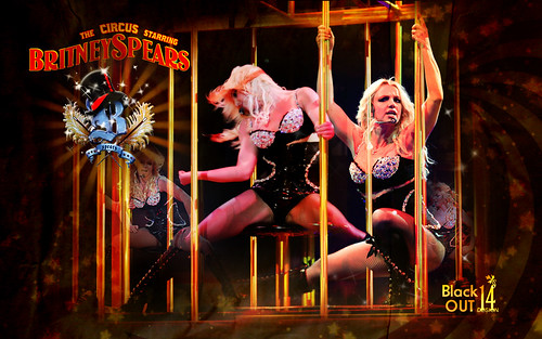 Britney Spears Circus Tour Wallpaper. The Circus Starring: Britney