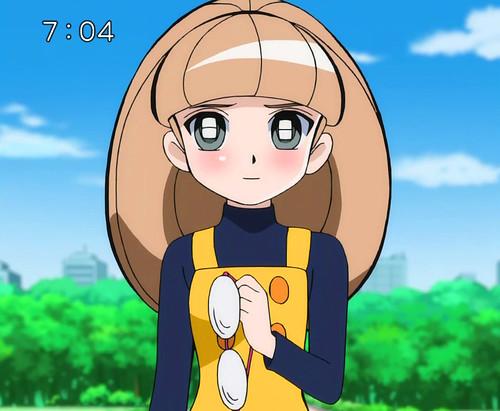 090309 - メガネコ/音無フミ子〔眼鏡子,Meganeko〕