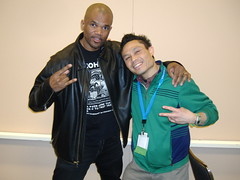 rik & DMC (of Run DMC)!