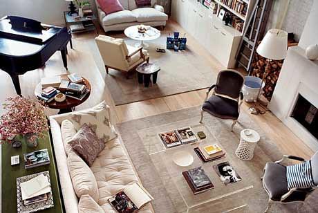 Domino style: Deborah Needleman's gorgeous TriBeCa loft by xJavierx.