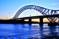 Runcorn/Widnes bridge HDR (kaytee...) Tags: bridge sunset liverpool river arch finepix fujifilm hdr widnes rivermersey runcornbridge pshdr pscla s5800