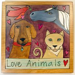 PLQ010 - Love Animals