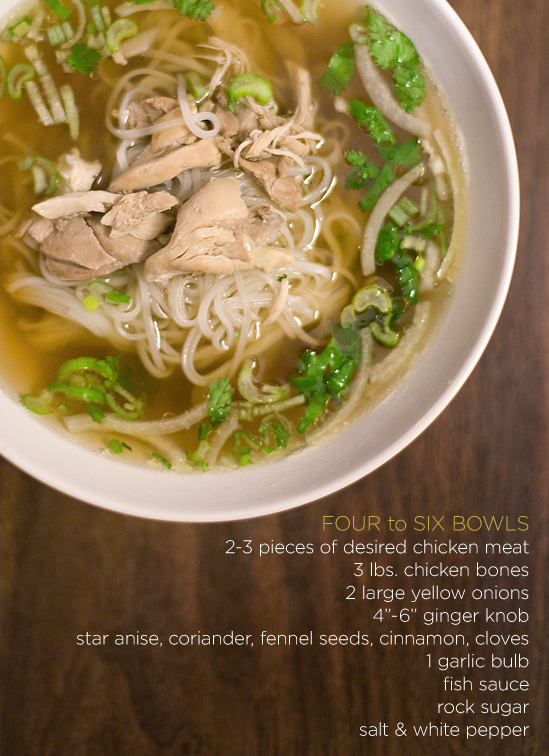 ... Angeles and Beyond.: Pho Ga - Vietnamese Chicken Noodle Soup Recipe