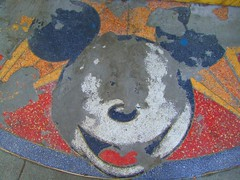 The Mouse is Dead (aussierupe) Tags: sanfrancisco abandoned retail logo corporate artwork pavement decay urbandecay failure cartoon cement icon disney sidewalk faded mickeymouse bayarea trademark unionsquare economy branding outofbusiness disneystore merchandising waltdisney corporateamerica defunct recession terazzo sandblasted obliterated deadretail brandmanagement offmessage messagecontrol