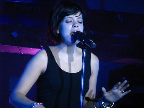 Lily Allen @ Sound Academy: photo by Michael Ligon