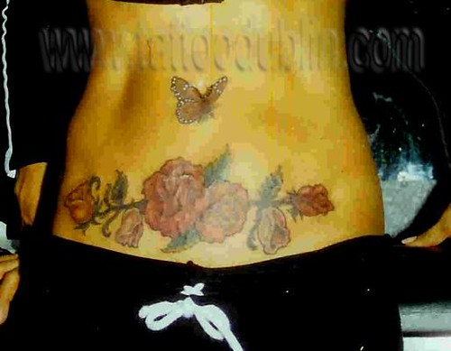 rose tattoo cover-up by tattoodublin.com.