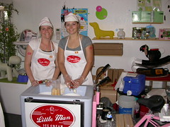 Little Man Ice Cream Gals! (Mod Livin') Tags: charity party modern puppy auction contest event dogshow midcentury bestinshow magis magispuppy