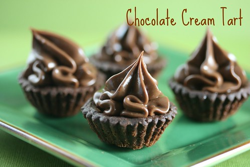 Food Librarian - Chocolate Cream Tart (Tuesdays with Dorie)