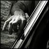 Sun's Jazz (Christine Lebrasseur) Tags: street people blackandwhite musician music man france male art 6x6 canon hand jazz tribute mm doublebass charlesmingus 500x500 challengeyouwinner artlibre onephotoweeklycontest winner500 allrightsreservedchristinelebrasseur julienperugini