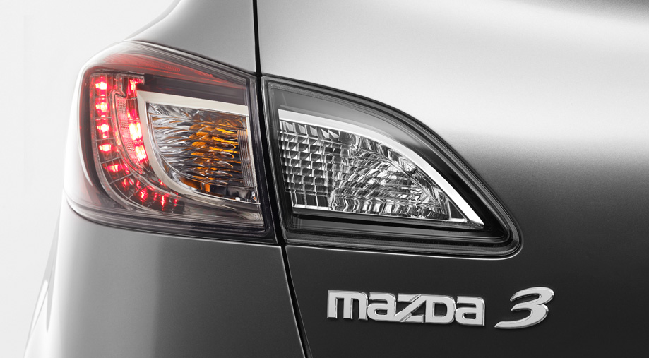 LED taillights Mazda 3