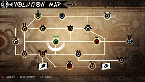 Patapon 2 Evolution Map screenshot 2