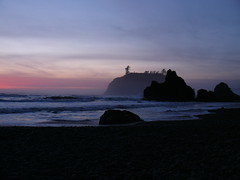 (perpetually dishevelled) Tags: sunset fog night washington waves pacificocean rubybeach olympicnationalpark kalaloch seastacks regionwide