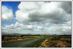 Big Country (paulmcdee) Tags: road travel blue arizona cactus sky usa clouds america canon sand desert lasvegas grandcanyon tumbleweed 5photosaday eos450d topqualityimagesonly sidebarpaul vegasusa