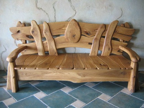 Antique Chair Oak Branches