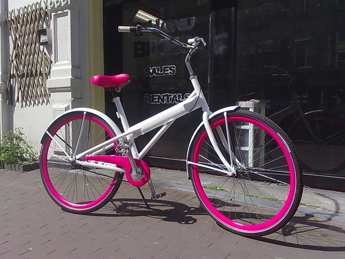 Hot Pink Street Bike Hot Pink Like This Bike