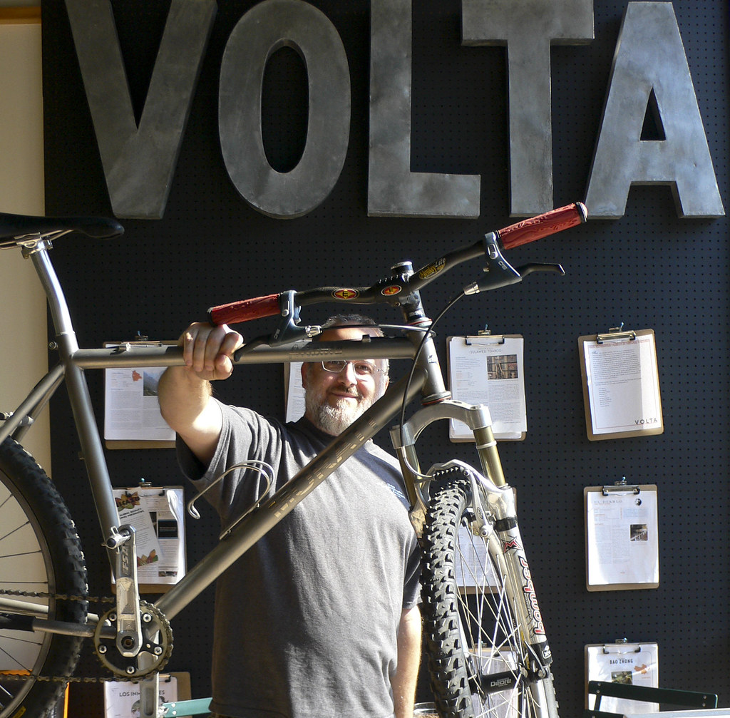 Baristas and Their Bikes: Anthony (again)