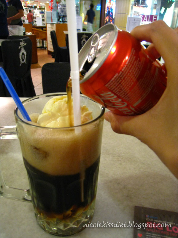 coke into coffee