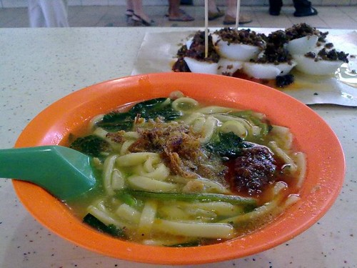 Rickshaw Noodles and Chwee Kueh