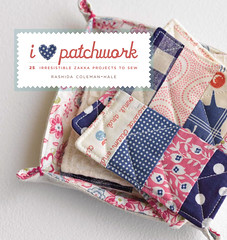 I Love Patchwork Preview - Cover (rashida coleman-hale) Tags: linen badge patchwork preview zakka craftbook interweavepress ilovepatchwork