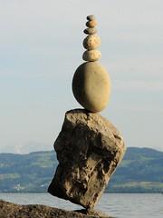 Balance (Heiko Brinkmann) Tags: sculpture water ilovenature stones pebbles balance bodensee balancing equilibrium rockbalancing lakeconstance rockbalance langenargen pebblebalancing stonebalancing the4elements stonebalance steinbalance hickoree steineaufstellen